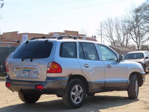 2004 Hyundai Santa Fe for sale at Big Man Motors in Farmington MN