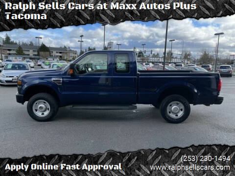 2008 Ford F-250 Super Duty for sale at Ralph Sells Cars at Maxx Autos Plus Tacoma in Tacoma WA