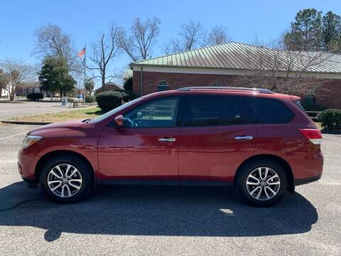 2015 Nissan Pathfinder for sale at Auddie Brown Auto Sales in Kingstree SC