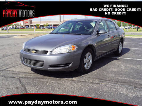2006 Chevrolet Impala for sale at Payday Motors in Wichita And Topeka KS
