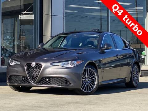 2017 Alfa Romeo Giulia for sale at Carmel Motors in Indianapolis IN