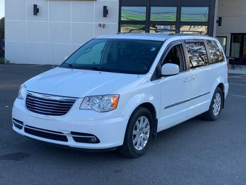 2015 Chrysler Town and Country for sale at MAGIC AUTO SALES in Little Ferry NJ