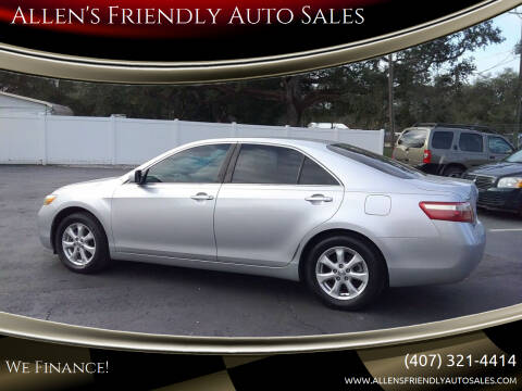 2009 Toyota Camry for sale at Allen's Friendly Auto Sales in Sanford FL