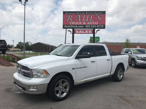 2011 RAM Ram Pickup 1500 for sale at RAUL'S TRUCK & AUTO SALES, INC in Oklahoma City OK