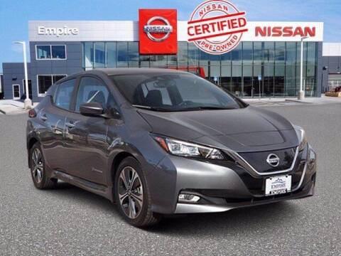 2018 Nissan LEAF for sale at EMPIRE LAKEWOOD NISSAN in Lakewood CO