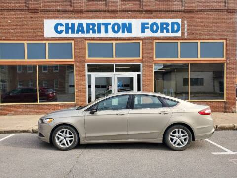 2015 Ford Fusion for sale at Chariton Ford in Chariton IA
