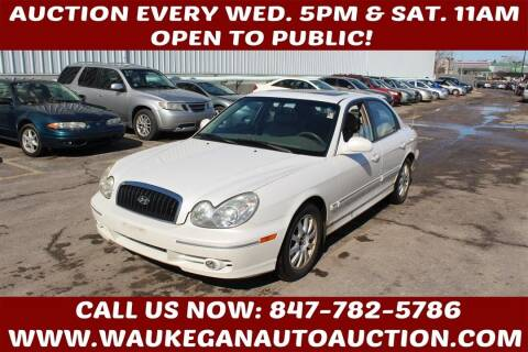 2004 Hyundai Sonata for sale at Waukegan Auto Auction in Waukegan IL