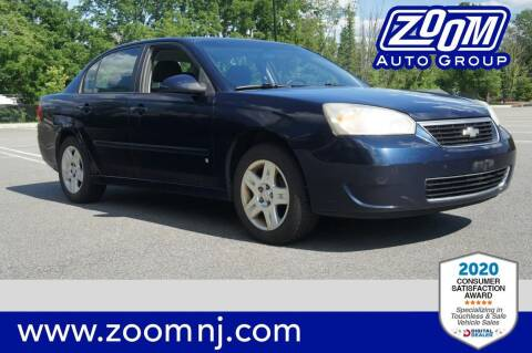 2007 Chevrolet Malibu for sale at Zoom Auto Group in Parsippany NJ