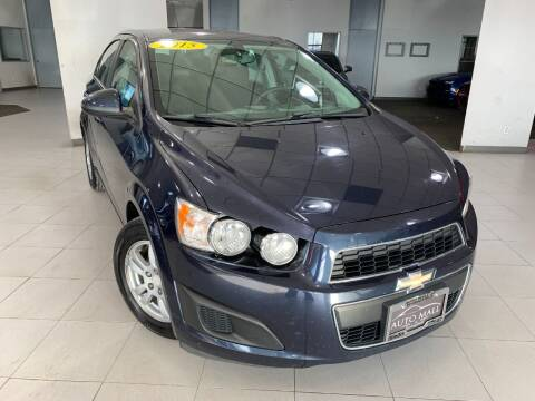 2015 Chevrolet Sonic for sale at Auto Mall of Springfield in Springfield IL