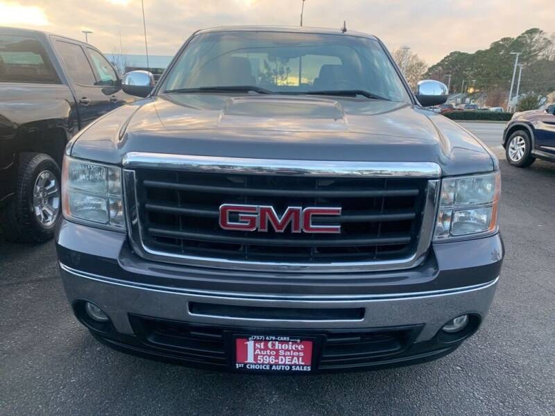 2011 GMC Sierra 1500 for sale at 1st Choice Auto Sales in Newport News VA