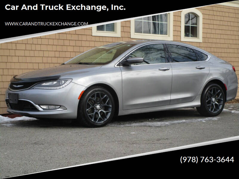 2015 Chrysler 200 for sale at Car and Truck Exchange, Inc. in Rowley MA