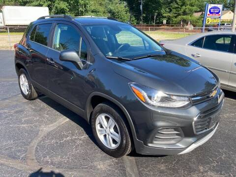 2017 Chevrolet Trax for sale at Old Time Auto Sales, Inc in Milford MA