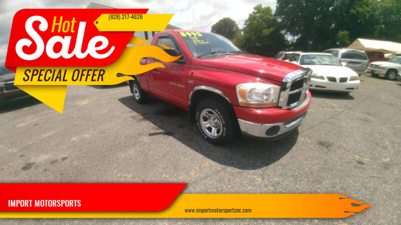 2006 Dodge Ram Pickup 1500 for sale at IMPORT MOTORSPORTS in Hickory NC