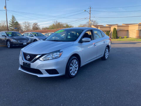 2017 Nissan Sentra for sale at Majestic Automotive Group in Cinnaminson NJ