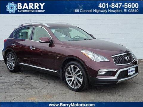 2017 Infiniti QX50 for sale at BARRYS Auto Group Inc in Newport RI