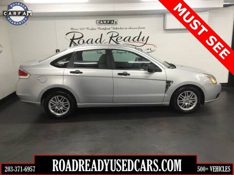 2008 Ford Focus for sale at Road Ready Used Cars in Ansonia CT