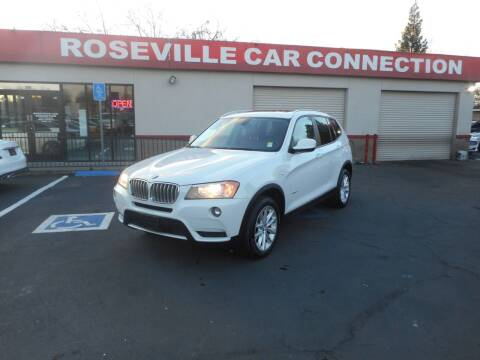 2013 BMW X3 for sale at ROSEVILLE CAR CONNECTION in Roseville CA