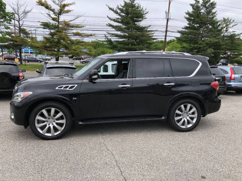 2014 Infiniti QX80 for sale at Matrone and Son Auto in Tallman NY