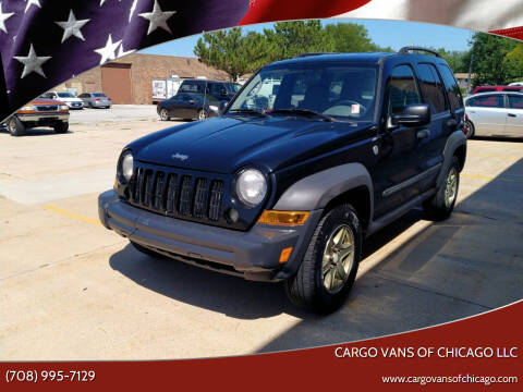 2007 Jeep Liberty for sale at Cargo Vans of Chicago LLC in Mokena IL