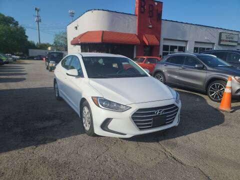 2017 Hyundai Elantra for sale at Best Buy Wheels in Virginia Beach VA