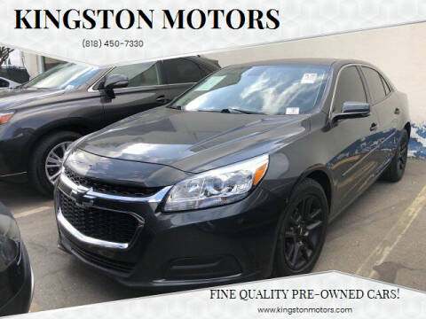 2016 Chevrolet Malibu Limited for sale at Kingston Motors in North Hollywood CA