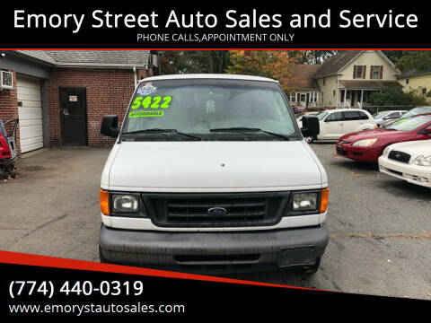 2006 Ford E-Series Cargo for sale at Emory Street Auto Sales and Service in Attleboro MA