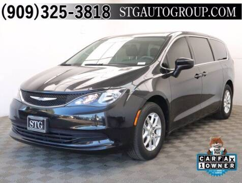2017 Chrysler Pacifica for sale at STG Auto Group in Montclair CA
