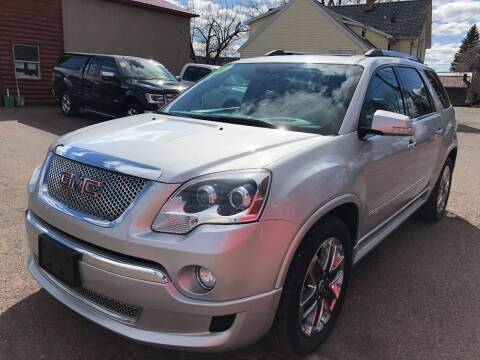 2012 GMC Acadia for sale at WB Auto Sales LLC in Barnum MN