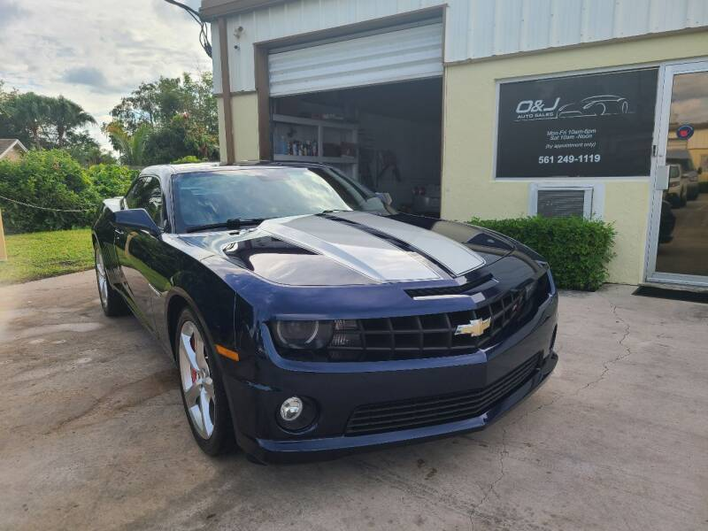 2010 Chevrolet Camaro for sale at O & J Auto Sales in Royal Palm Beach FL