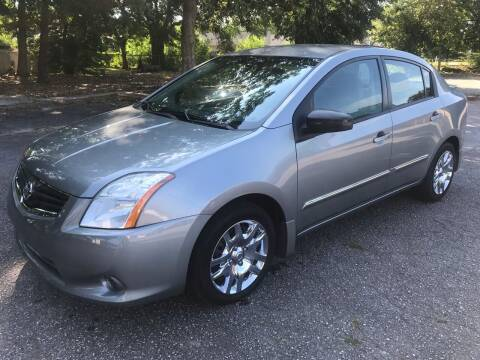 2012 Nissan Sentra for sale at Cherry Motors in Greenville SC