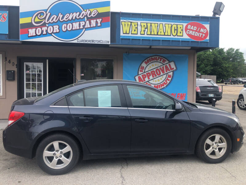 2015 Chevrolet Cruze for sale at Claremore Motor Company in Claremore OK