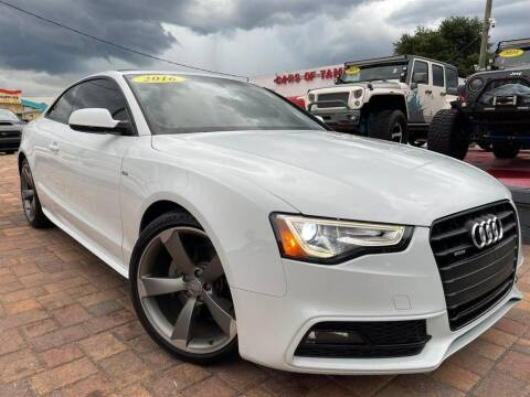 2016 Audi A5 for sale at Cars of Tampa in Tampa FL
