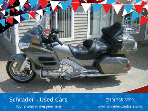 2008 Honda Goldwing for sale at Schrader - Used Cars in Mt Pleasant IA