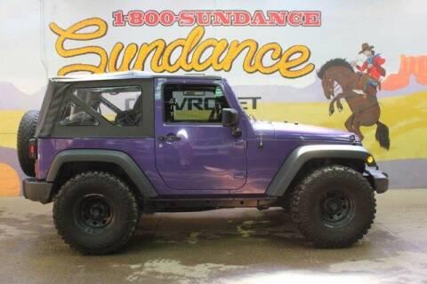 2018 Jeep Wrangler JK for sale at Sundance Chevrolet in Grand Ledge MI