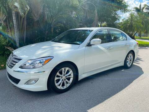 2013 Hyundai Genesis for sale at Car Girl 101 in Oakland Park FL