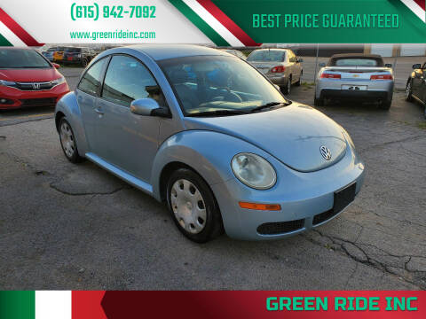 2010 Volkswagen New Beetle for sale at Green Ride Inc in Nashville TN