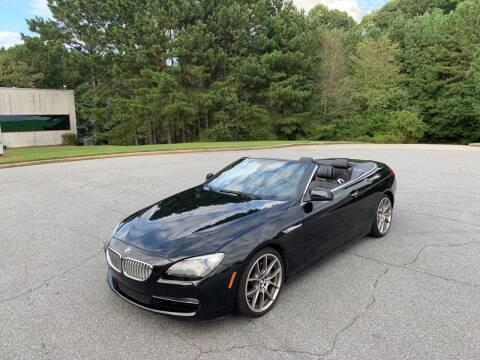 2012 BMW 6 Series for sale at Auto Deal Line in Alpharetta GA