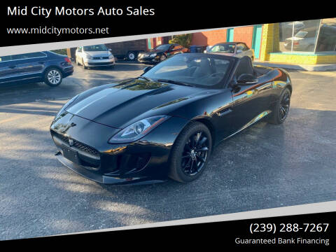 2014 Jaguar F-TYPE for sale at Mid City Motors Auto Sales in Fort Myers FL