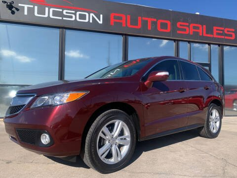 2014 Acura RDX for sale at Tucson Auto Sales in Tucson AZ
