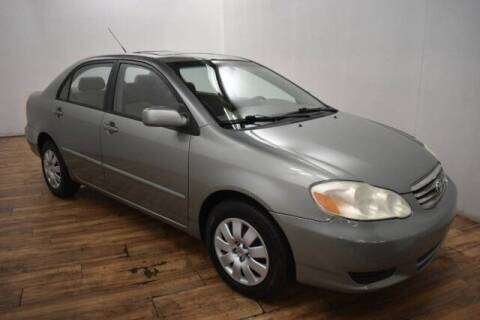 2003 Toyota Corolla for sale at Paris Motors Inc in Grand Rapids MI