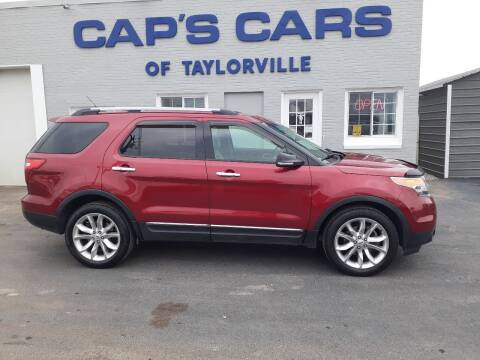 2013 Ford Explorer for sale at Caps Cars Of Taylorville in Taylorville IL