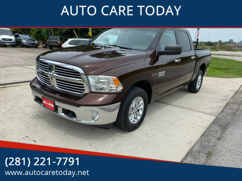 2014 RAM Ram Pickup 1500 for sale at AUTO CARE TODAY in Spring TX