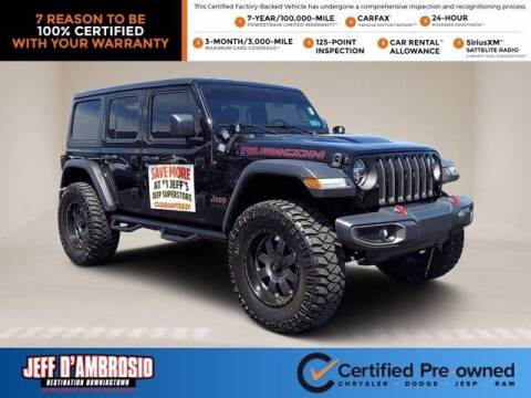2019 Jeep Wrangler Unlimited for sale at Jeff D'Ambrosio Auto Group in Downingtown PA