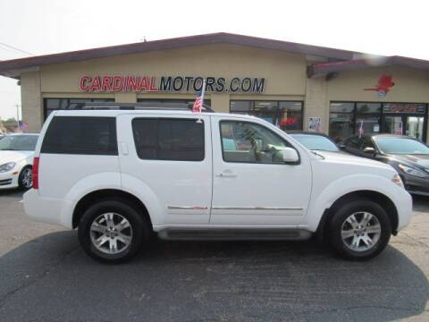 2012 Nissan Pathfinder for sale at Cardinal Motors in Fairfield OH