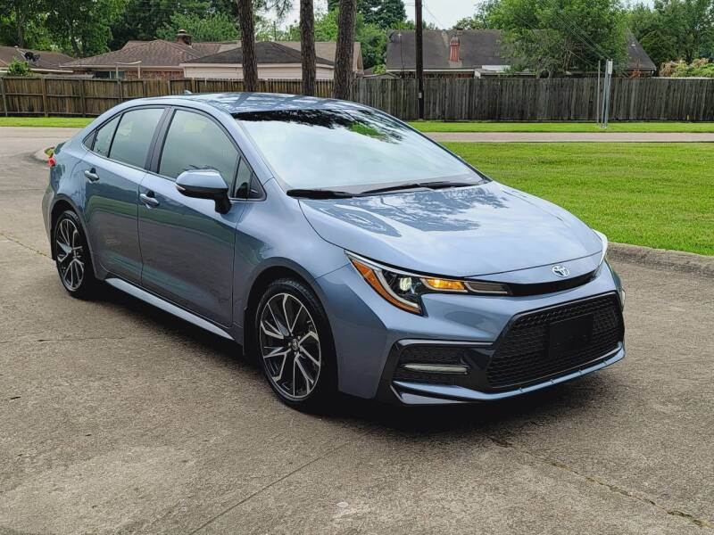2020 Toyota Corolla for sale at MOTORSPORTS IMPORTS in Houston TX