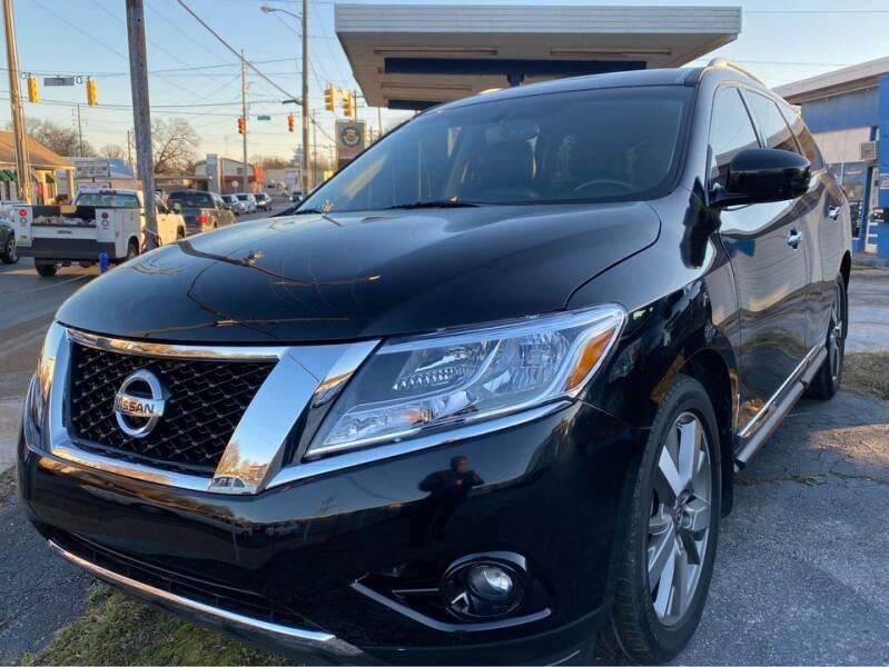 2014 Nissan Pathfinder for sale at Shoals Dealer LLC in Florence AL