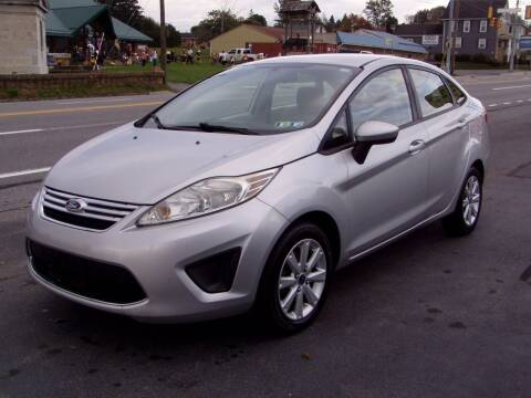 2012 Ford Fiesta for sale at The Autobahn Auto Sales & Service Inc. in Johnstown PA
