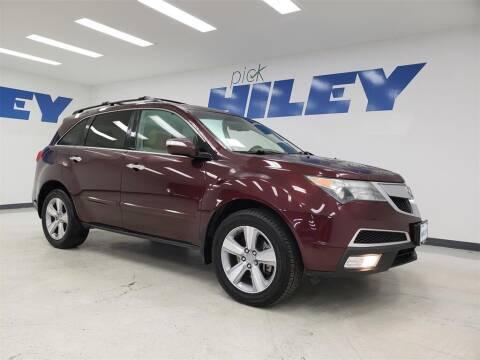 2013 Acura MDX for sale at HILEY MAZDA VOLKSWAGEN of ARLINGTON in Arlington TX