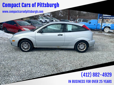 2007 Ford Focus for sale at Compact Cars of Pittsburgh in Pittsburgh PA