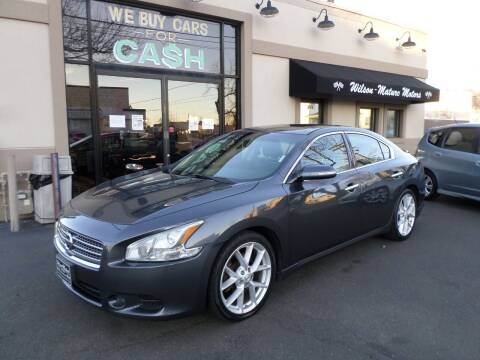 2009 Nissan Maxima for sale at Wilson-Maturo Motors in New Haven Ct CT